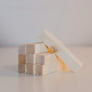 Vittringspinne i furu (9-pack)